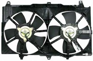 2003-2007 Infiniti G35 Radiator Cooling Fan Assembly