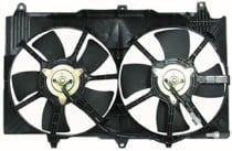 2003 - 2007 Infiniti G35 Radiator Cooling Fan Assembly