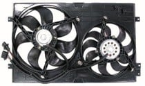 1999 - 2004 Volkswagen Golf + GTI + GTA Radiator Cooling Fan Assembly