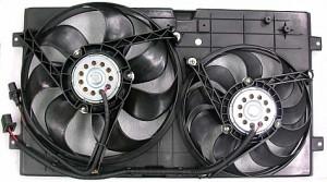1998-2005 Volkswagen Beetle Radiator Cooling Fan Assembly