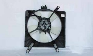2002-2005 Kia Rio5 Radiator Cooling Fan Assembly
