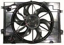 2005 - 2009 Hyundai Tucson Radiator Cooling Fan Assembly (2.0L)