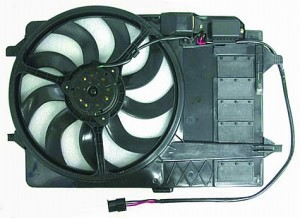 2003-2008 Mini Cooper Radiator Cooling Fan Assembly