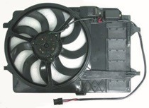 2003 - 2008 Mini Cooper Radiator Cooling Fan Assembly