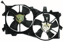 2002 - 2005 Mazda MPV Radiator Cooling Fan Assembly