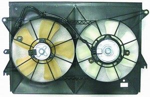 2005-2009 Scion tC Radiator Cooling Fan Assembly