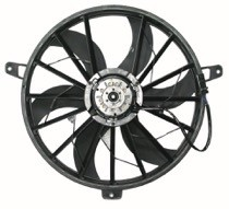 2004 Jeep Grand Cherokee Radiator Cooling Fan Assembly