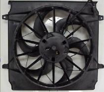 2005 - 2007 Jeep Liberty Radiator Cooling Fan Assembly (With 2.4L Engine)