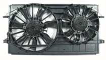 2004 - 2008 Chevrolet (Chevy) Malibu Radiator Cooling Fan Assembly