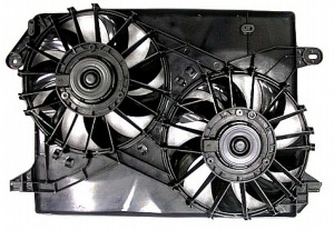2005-2007 Dodge Magnum Radiator Cooling Fan Assembly