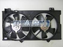 2003 - 2008 Mazda 6 Mazda6 Radiator Cooling Fan Assembly (3.0L / Without Fan Control Module)