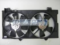 2003 - 2008 Mazda 6 Mazda6 Radiator Cooling Fan Assembly (3.0L + Without Fan Control Module)