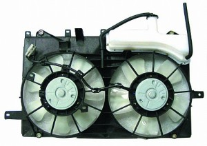2004-2009 Toyota Prius Radiator Cooling Fan Assembly