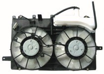 2004 - 2009 Toyota Prius Radiator Cooling Fan Assembly