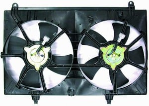2003-2008 Infiniti FX35 Radiator Cooling Fan Assembly