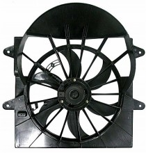 2005-2006 Jeep Commander Radiator Cooling Fan Assembly