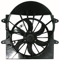 2005 - 2006 Jeep Commander Radiator Cooling Fan Assembly