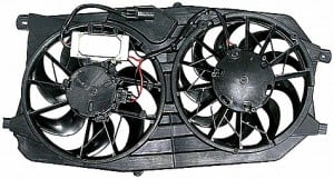 2005-2007 Ford Five Hundred Radiator Cooling Fan Assembly