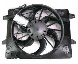 2003-2005 Ford Crown Victoria Radiator Cooling Fan Assembly