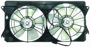 2000-2005 Toyota Celica Radiator Cooling Fan Assembly