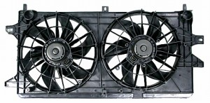 2004-2005 Chevrolet (Chevy) Impala Radiator Cooling Fan Assembly