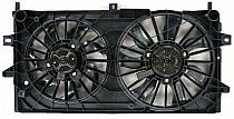 2006-2010 Chevrolet (Chevy) Impala Radiator Cooling Fan Assembly