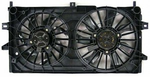2006-2008 Chevrolet (Chevy) Monte Carlo Radiator Cooling Fan Assembly