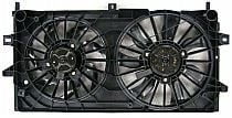 2006 - 2008 Chevrolet (Chevy) Monte Carlo Radiator Cooling Fan Assembly