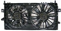 2004 - 2008 Pontiac Grand Prix Radiator Cooling Fan Assembly