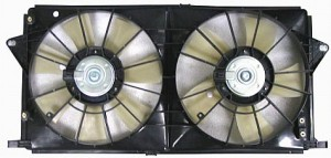 2006-2007 Cadillac DTS Radiator Cooling Fan Assembly