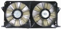 2006 - 2007 Cadillac DTS Radiator Cooling Fan Assembly