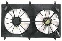 2003-2007 Honda Accord Radiator Cooling Fan Assembly (4 Cylinder / Coupe / Sedan / Valeo)