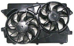 2004-2007 Saturn Vue Radiator Cooling Fan Assembly