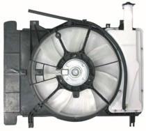 2007 - 2008 Toyota Yaris Radiator Cooling Fan Assembly