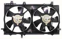 2003 - 2008 Subaru Forester Radiator Cooling Fan Assembly (Without Turbo)