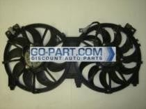 2007 - 2010 Jeep Wrangler Radiator Cooling Fan Assembly