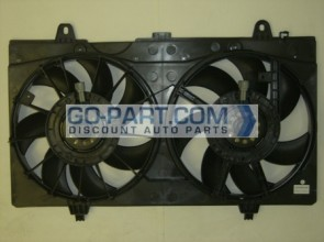2007-2011 Nissan Sentra Radiator Cooling Fan Assembly