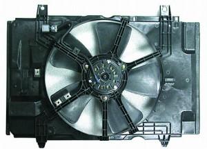 2007-2012 Nissan Versa Radiator Cooling Fan Assembly