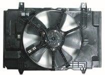 2007 - 2012 Nissan Versa Radiator Cooling Fan Assembly
