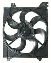 2006 - 2007 Kia Rio Radiator Cooling Fan Assembly