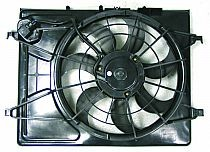 2007 - 2010 Hyundai Elantra Radiator Cooling Fan Assembly