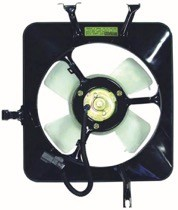 1990 - 1993 Acura Integra Condenser Cooling Fan Assembly