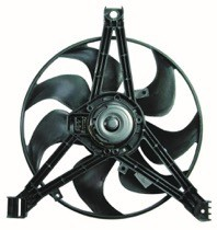1997 - 1998 Pontiac Grand Prix Radiator Cooling Fan Assembly