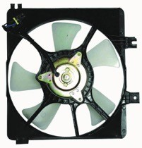 1998 - 1999 Mazda 626 Radiator Cooling Fan Assembly (Auxiliary Cooling)