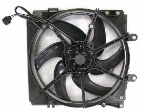 1998-1999 Mazda 626 Radiator Cooling Fan Assembly (Main Cooling Fan)