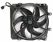 1998 - 1999 Mazda 626 Radiator Cooling Fan Assembly (Main Cooling Fan)