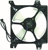 1999 - 2003 Mitsubishi Galant Condenser Cooling Fan Assembly (3.0L)