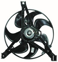 1995 - 1997 Chevrolet (Chevy) Monte Carlo Condenser Cooling Fan Assembly