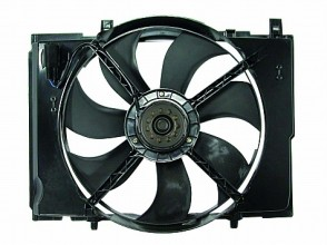 2004-2006 Chrysler Crossfire Cooling Fan Assembly