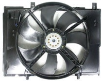 2004 - 2006 Chrysler Crossfire Cooling Fan Assembly